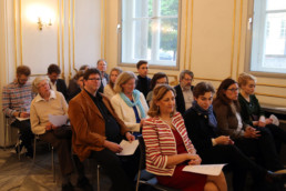 Festakt 26.4.2018, Ephraim Palais Berlin, Publikum im Saal, Foto: Matthias Reichelt