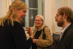 Festakt 26.4.2018, Ephraim Palais Berlin, Emily Pütter, Nele Güntheroth und Aubrey Pomerance Foto: Matthias Reichelt
