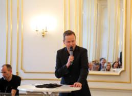 Festakt 26.4.2018, Ephraim Palais Berlin, Rede Dr. Klaus Lederer, Foto: Matthias Reichelt