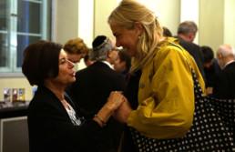 Festakt 26.4.2018, Ephraim Palais Berlin, Lala Suesskind und Emily Pütter, Foto: Matthias Reichelt