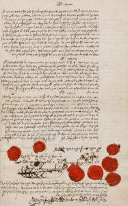 Abb. 1: Testament von Veitel Heine Ephraim, Berlin 1774,