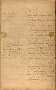 Abb. 2 Testament von Veitel Heine Ephraim, Berlin 1774